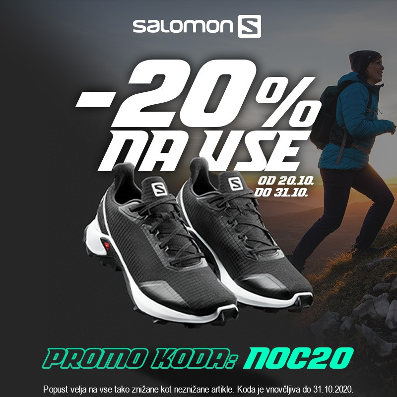 Salomon dodatnih 20